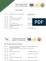 TANGO 2014 Schedule
