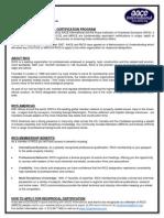 CCE - RICS Reciprocal Program by RICS[1]