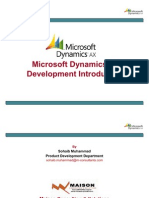 Dynamics AX 2009 Development Presentation