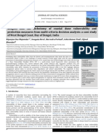 Insights into the dichotomy of coastal dune vulnerability and protection measures from multi-criteria decision analysis