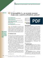 HbA1c Como Predictor de Complicaciones de DM. Cleveland Clinic Journal of Medicine-2014-BAZERBACHI-146-9