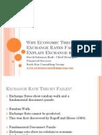 Why Economic Theory Fails to Explain Exchange Rates?