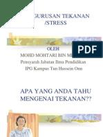 Pelan Tindakan Menangani Stress