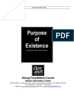 1) Purpose of Existence