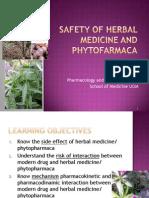 12 Safety of Herbal Medicine - Dr Rul