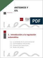 1 Introduccion a La Regulacion Automatica AyC