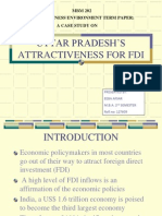 Uttar Pradesh's attractiveness for fdi