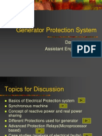 Generator Protection System