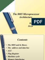 8085 Microprocessor