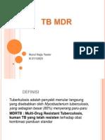 Nurul Hajja Yasier TB MDR Oke 2003