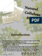 natural cellulose fibres