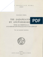 Sferra, F. - The Sadangayoga by Anupamaraksita