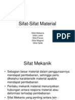 Sifat Sifat Material