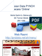 Pengisian Data Pinch Secara Online