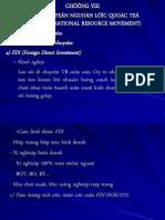 Chuong VIII Va IX - Su Di Chuyen Nguon Luc Va TGHD