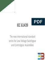 Understanding 61439 by 3 Phase Design