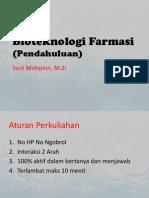 Pendahuluan-Bioteknologi Farmasi (STFB)