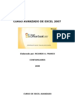 45695245 Curso de Excel Avanzado