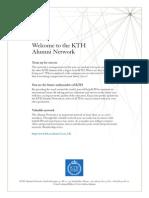 KTH Alumni Network HT11