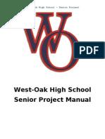 West-Oak High School – Senior Project