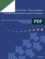 Relation UE- Conseil de l'Europe