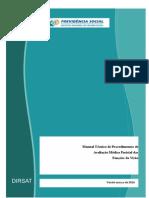 Manual Técnico de Procedimentos de Avaliação Médica Pericial das Funções da Visão
