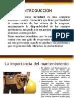 OT´S, GESTION DE MANTENIMIENTO INDUSTRIAL