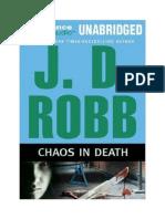 Robb J.D.  - Chaos-In-Death