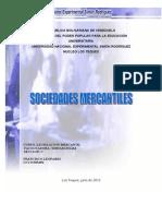 Monografia de Legislacion Sociedades Mercantiles