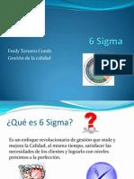 Metodología 6 sigma Fredy Tornero Conde