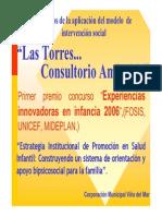 Corporación municipal Viña del Mar - (2006) Estrategia institucional de promoción en salud infantil (Cons. Las Torres)