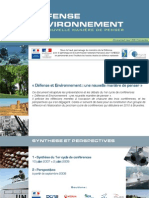 synthese défense et environnement provisoire