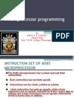 8085 Microprocessor Programming