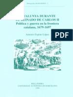 Politica y Guerra en La Frontera Catalana 1679-1697