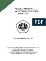 Formulir BPP_DN Cados 2013