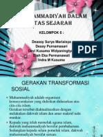 Muhammadiyah Dalam Lintas Sejarah Kel 6