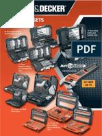 B&D, Multi piece setsB&D, Multi Piece Sets