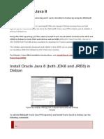 Install Oracle Java 8