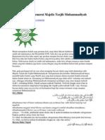 Bacaan Shalat Menurut Majelis Tarjih Muhammadiyah