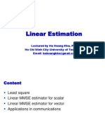OP02 Linear Estimation