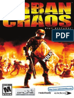 Urban Chaos - Riot Response - Manual - PS2