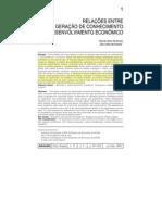 relações entre geração de conhecimento e desenvolvimento econômico.pdf