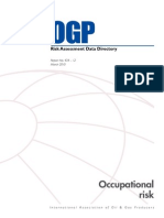 OGP - Occupational Risk - March 2010