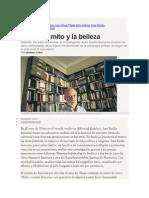 José Emilio Burucúa analiza los usos universales de la figura fundamental de la mitología griega