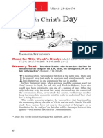 Laws in Christ's Day 29 Mar - 4 Apr