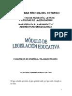 Modulo de Legislacion Educativa