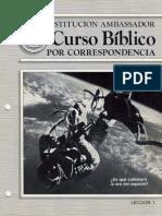 IA Curso Biblico Corr Leccion 01 (1984)