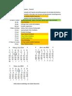 Timeline 6 Sem 2013-14