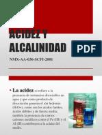PRESENTACIóN ACIDEZ Y alcalinidad