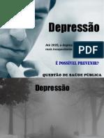 DEPRESSÃO - COMBATE